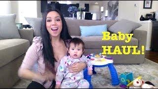 Baby Clothing Haul + Birthday Toys! - itsMommysLife