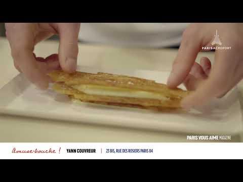 Paris vous aime Magazine : à la découverte du mille-feuille vanillé de Yann Couvreur