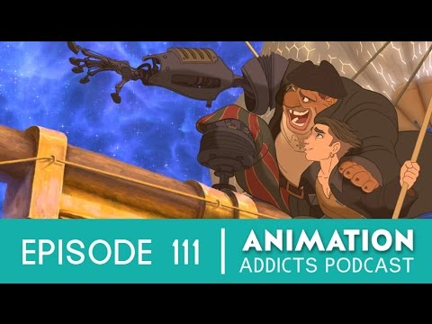 Animation Addicts #111 - 'Treasure Planet' Review | Rotoscopers