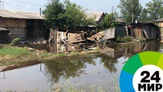 Военные химики продолжают дезинфекцию подтопленных районов Иркутской области