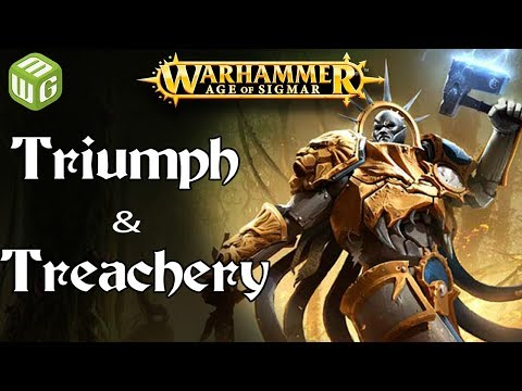 Triumph and Treachery! Age of Sigmar Battle Report - War of the Realms Ep 238
