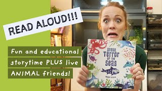 READ ALOUD - Steve, Terror of the Seas a fun and educational STORY TIME plus LIVE animal friends!