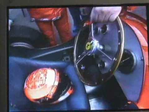 Michael Schumacher drives 1951 Ferrari F1