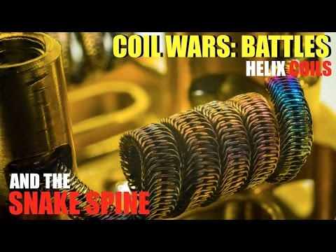 COILWARS: BATTLES | The Helix Coil Challenge | And How to Build a Snake Spine Coil