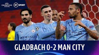 Gladbach v Manchester City (0-2) | Cancelo puts on masterclass | Champions League Highlights
