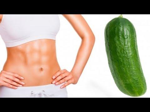 Voici Le Secret De L'eau De Concombre Pour Avoir Votre Poids Idéal Et Un Ventre Plat En Une Semaine