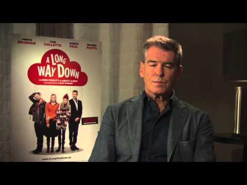 James Bond 007 Pierce Brosnan Interview A LONG WAY DOWN