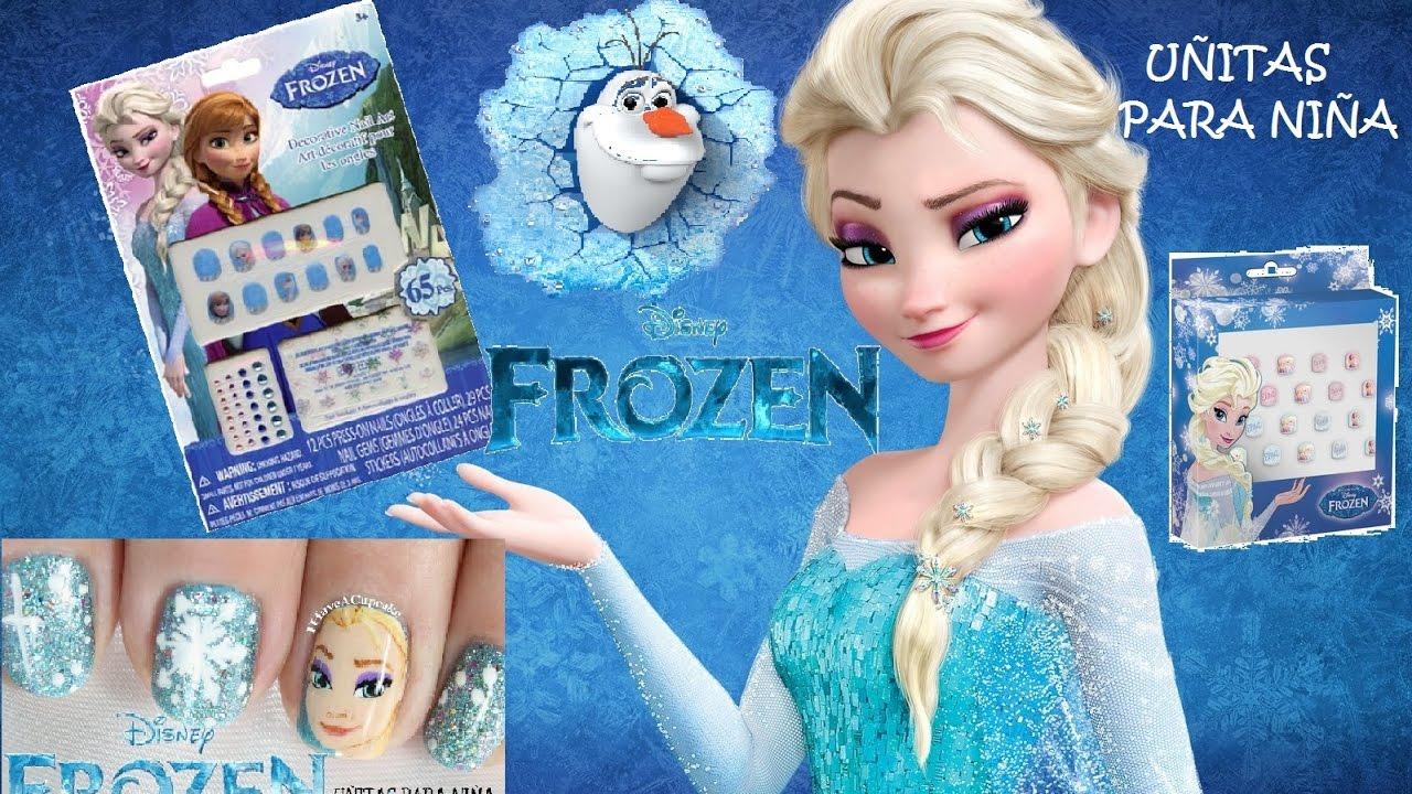 Abriendo kit de uñas de FROZEN - Uñas Creativas Juguetes ...