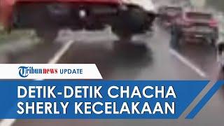 Video Detik-detik Kecelakaan Maut yang Akibatkan Chacha Sherly Meninggal Dunia di Tol Semarang Solo