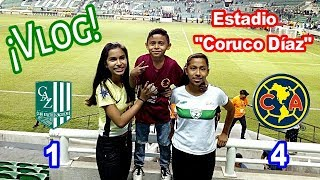 Visitando El Estadio Coruco Díaz ¡Zacatepec VS América! - PAY POPS