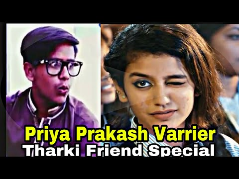 Priya Prakash Varrier | Tharki Friend Special Video | Fool Boyzzz Officiall