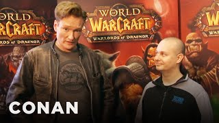 "Conan Plays ""World Of Warcraft"" At BlizzCon"