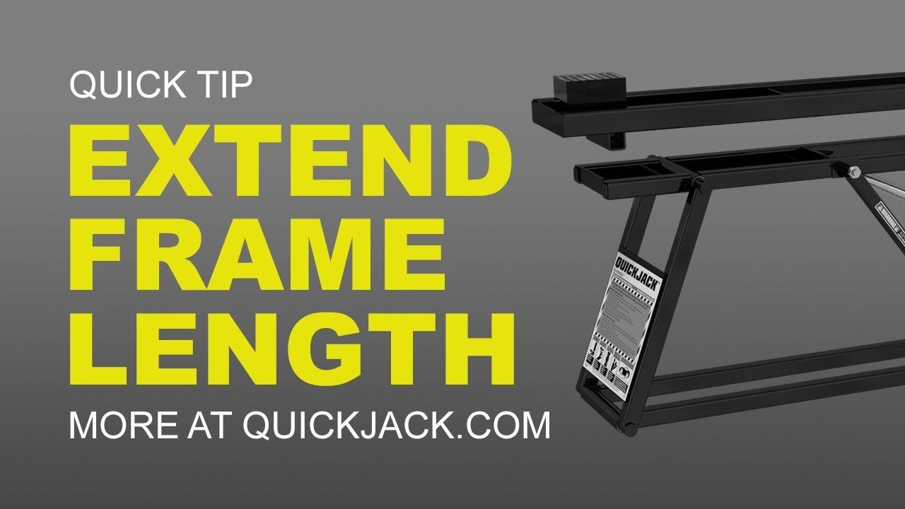 Quick Jack Com >> Quickjack Slx Frame Extension Kit Fits 5000slx And 7000slx