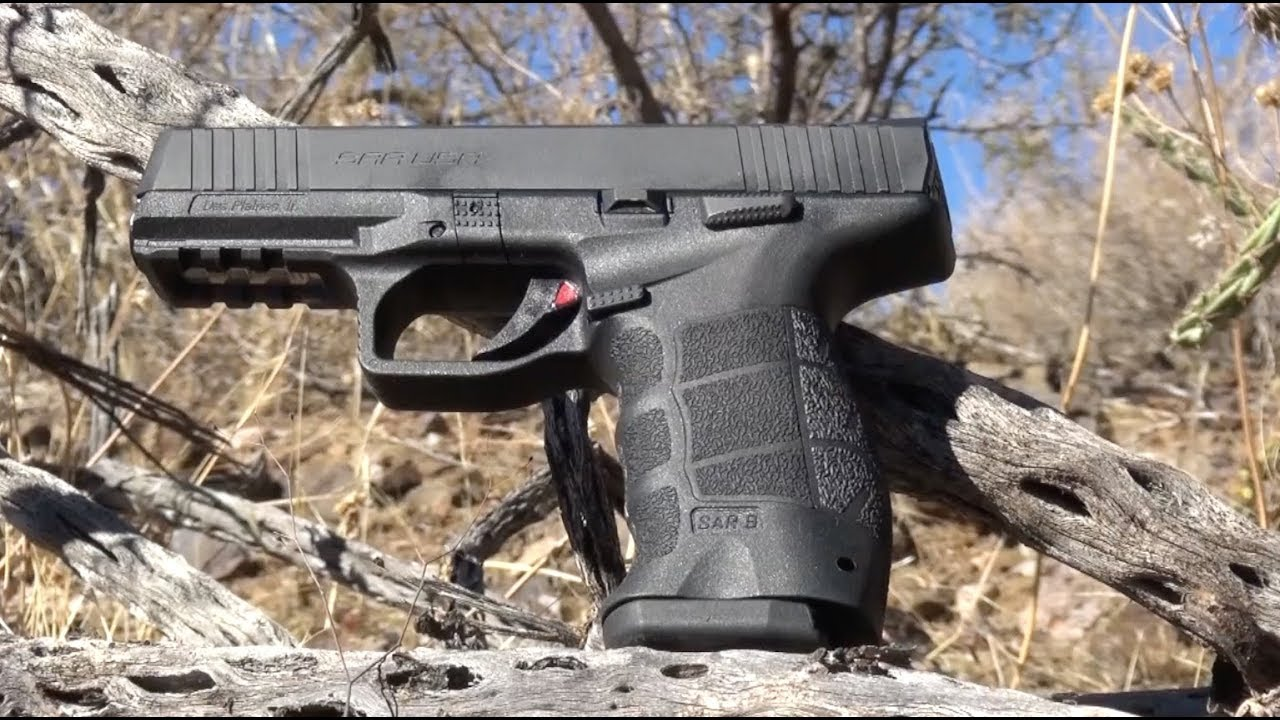 SAR USA Duty-Size Pistol Does More Than Just Duty