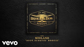 Brooks & Dunn - Boot Scootin' Boogie (with Midland [Audio])