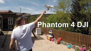 Phantom 4 DJI Drohne Stabilität Reichweite (Weitflug) Test Flug