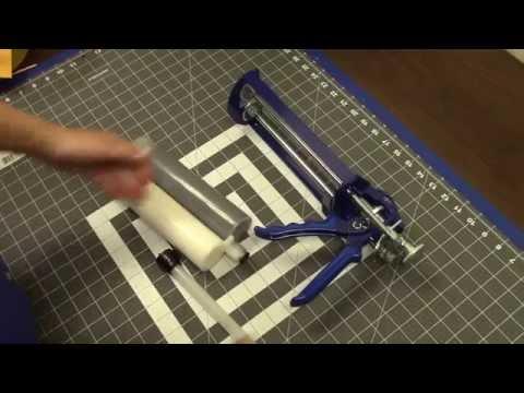 Epoxy Dispenser Gun & Cartridge Kit from Stop-Painting