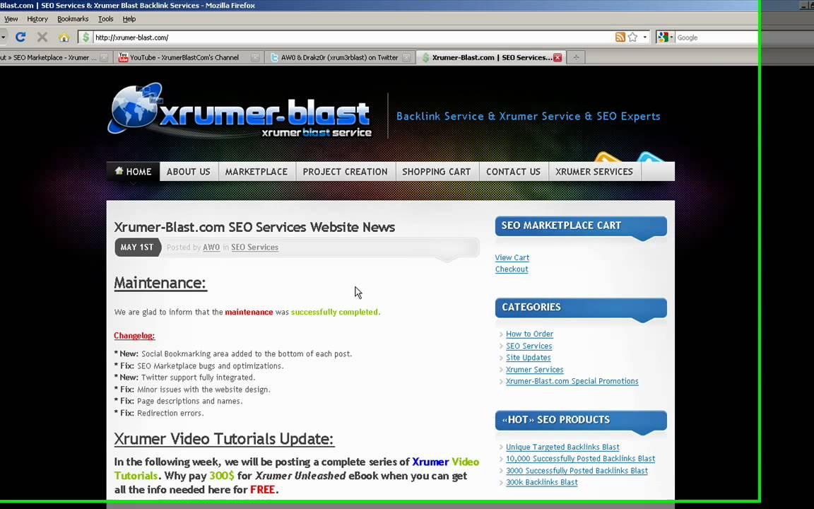 Buy xrumer blast раскрутка сайтов narod