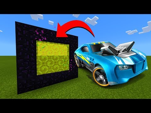 How To Make A Portal To The Hot Wheels Dimension In Minecraft!