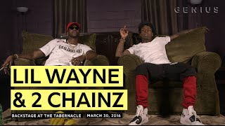 """Lil Wayne Teared Up After Hearing 2 Chainz's """"Dedication"""" (Pt. 1)"""