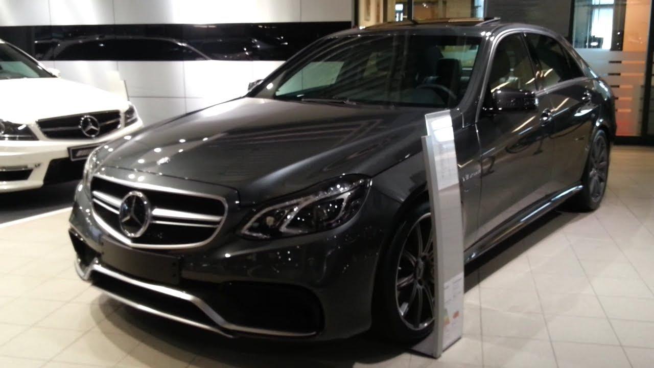 2016 Mercedes Benz Amg E 63 Sedan >> Mercedes Benz E63 Amg 2015 In Depth Review Interior Exterior
