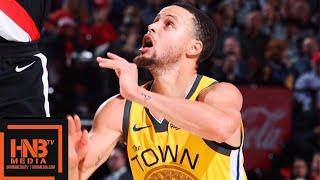 GS Warriors vs Portland Trail Blazers Full Game Highlights | 02/13/2019 NBA Season