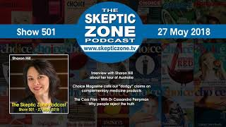 The Skeptic Zone #501 - 27.May.2018