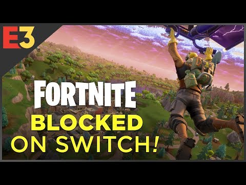 Fortnite On Switch: BLOCKED By Sony?! | Polygon @ E3 2018