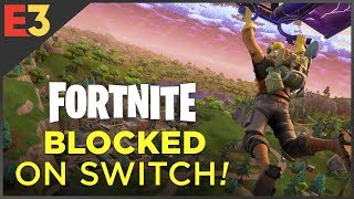 Fortnite on Switch: BLOCKED by Sony?!   Polygon @ E3 2018