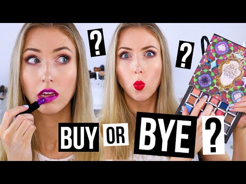 BUY OR BYE: URBAN DECAY || Swatches & Review of Alice Through the Looking Glass Makeup!