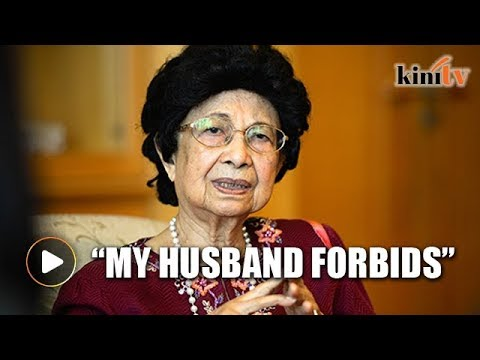 My husband forbids me from wearing tudung, says Siti Hasmah