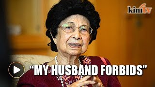 My husband forbids me from wearing tudung, says Siti Hasmah