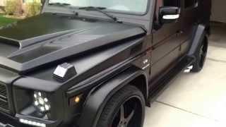 Matte Black Mercedes-Benz G55 AMG Beastie!!!!