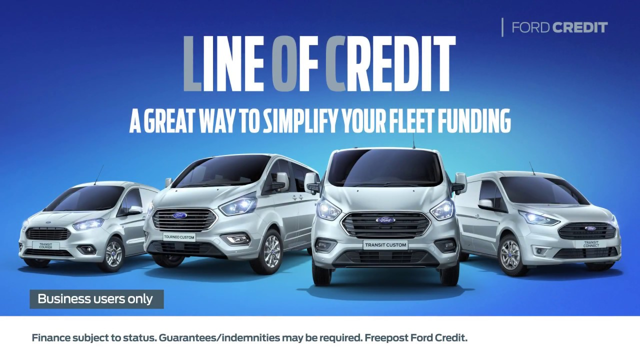 Ford credit line of credit simplify your fleet funding