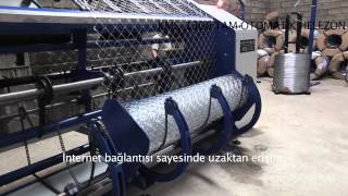 KMS 1400   Automatic Chain Link Fence Machine