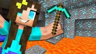 FINDING DIAMONDS!! (Minecraft)