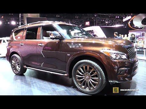 2015 Infiniti QX80 Limited - Exterior and Interior Walkaround - 2014 LA Auto Show