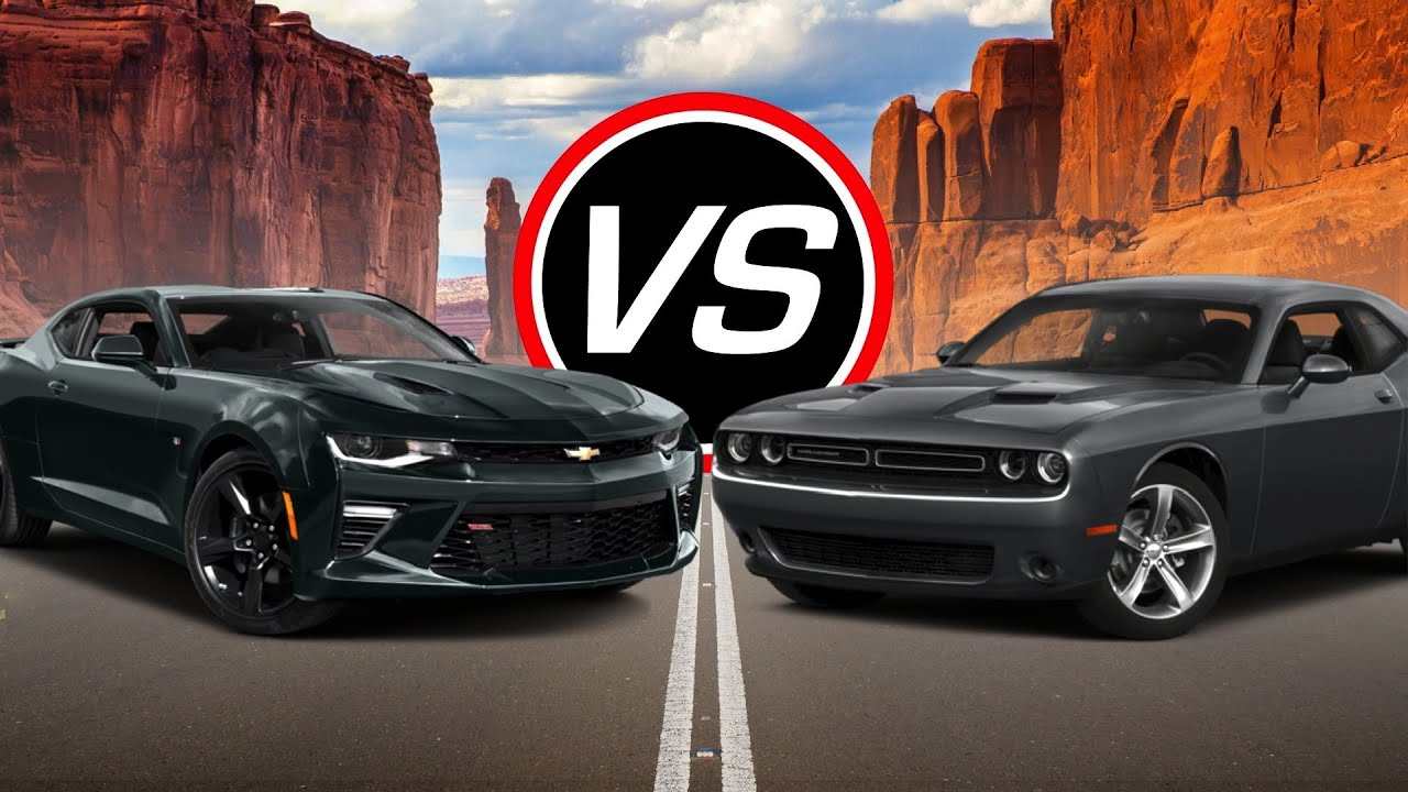 2016 chevy camaro ss vs dodge challenger r t spec comparison youtube. Black Bedroom Furniture Sets. Home Design Ideas
