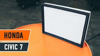 Montaje Filtro de aire motor HONDA CIVIC: vídeo manual