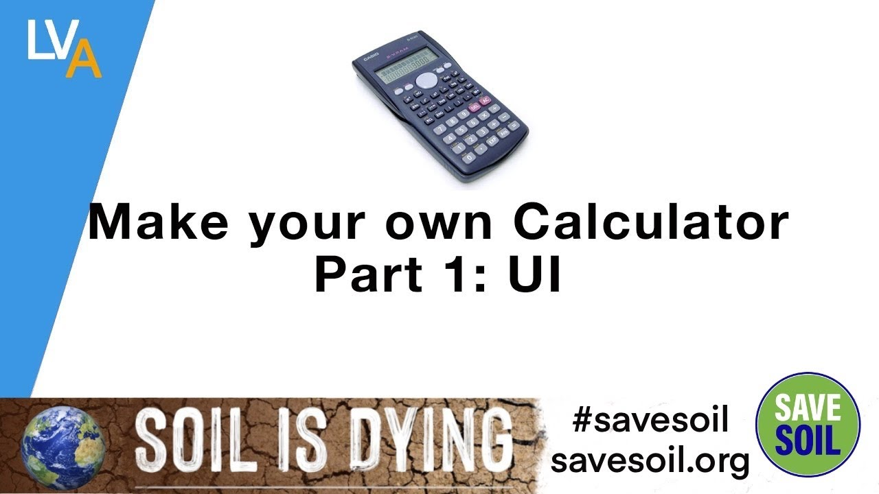 How to make your own Calculator using LabVIEW Part I – UI