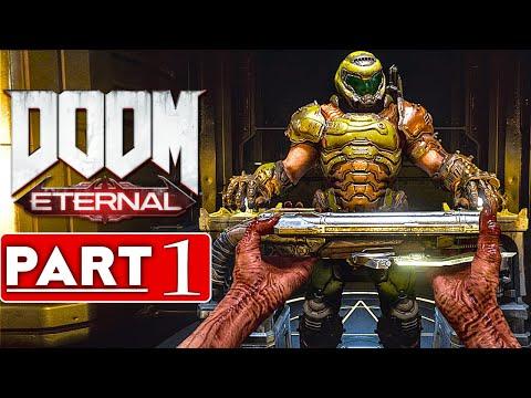 DOOM ETERNAL Gameplay Walkthrough Part 1 [4K 60FPS PC] - No Commentary