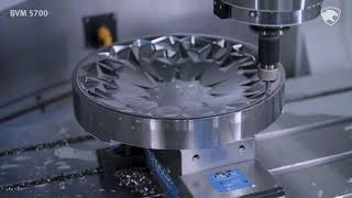 두산공작기계 | BVM 5700 | 실가공-Bowl(D…