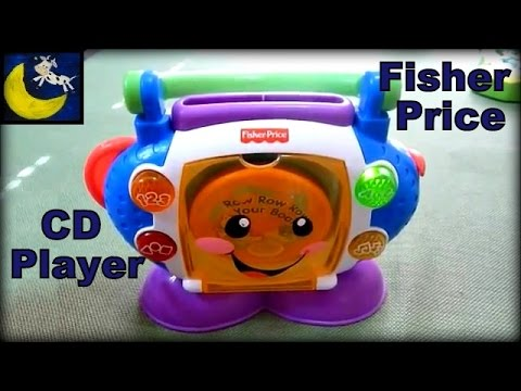Fisher-Price Laugh & Learn Sing-with-Me CD Player - YouTube