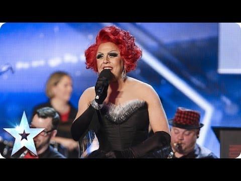 La Voix & The London Gay Big Band do New York, New York | Britain's Got Talent 2014