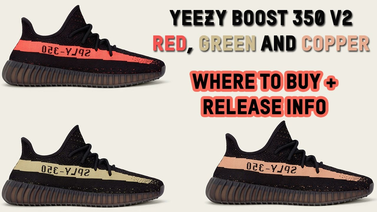 Adidas Yeezy Boost 350 V 2 Black Copper