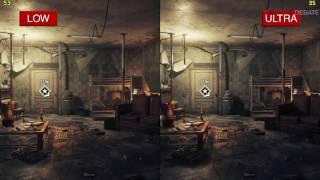 Homefront: The Revolution PC Low vs Ultra Graphics Comparison