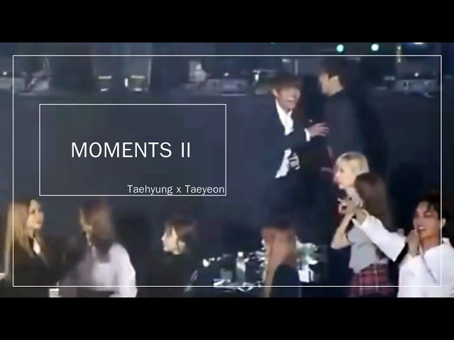 [TAEHYUNG X TAEYEON] - VYEON MOMENTS Part2