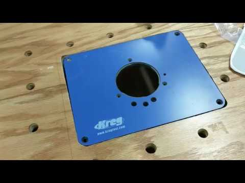Kreg router plate installation using insert plate levelers youtube kreg router plate installation using insert plate levelers greentooth Choice Image