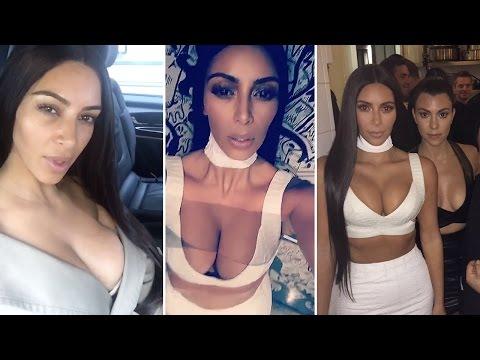 Kim Kardashian's Final Snapchat Before Being Robbed At Gunpoint   Full Video