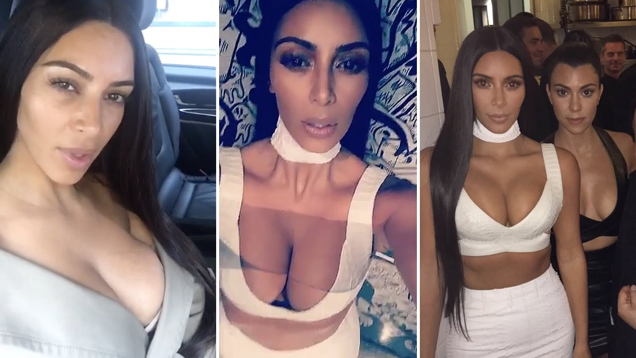 Kim kardashian 39 s final snapchat before being robbed at for Where does kim kardashian live now